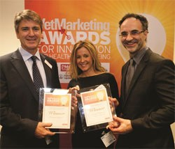 Fitzpatrick Referrals scooped two awards at last week's Vet Marketing Awards, held at the London Vet Show.