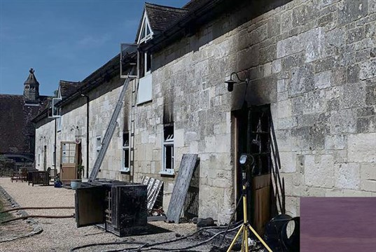 Cat charity HQ badly damaged in overnight blaze