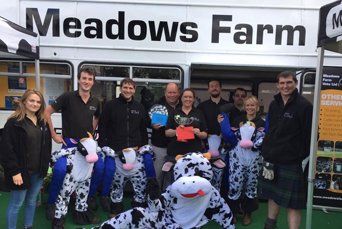 Champagne corks popping as Worcestershire-based Meadows Farm Vets Ltd