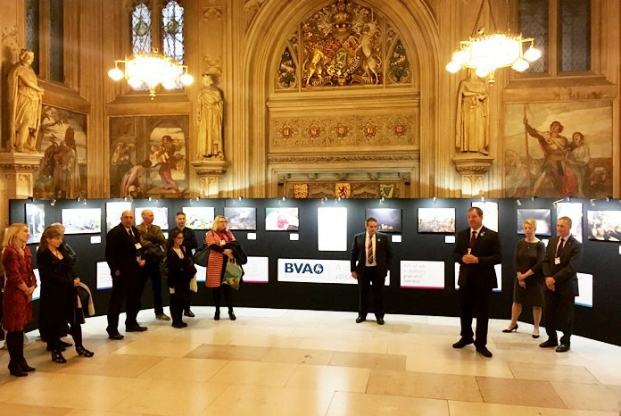 The British Veterinary Association has opened Through the eyes of vets, an exhibition in the House of Commons of the diverse work carried out by veterinary surgeons, depicted in a series of photographs by its members.